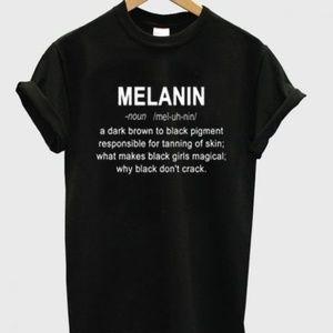 Melanin Definition T-Shirt